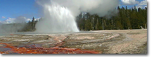 Daisy Geyser -Yellowstone National Park