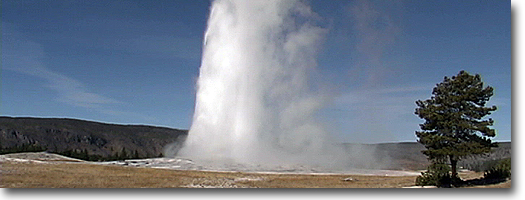 Old Faithful -Yellowstone National Park