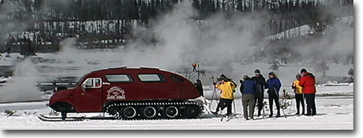 Snowcoach -Yellowstone National Park