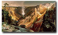 Grand Canyon of the Yellowstone - Moran